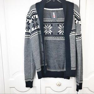Buffalo David Bitton Sweaters - Buffalo David bitton fair isle cardigan sweater